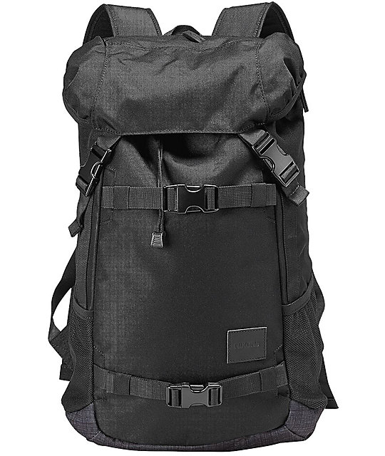 Nixon Landlock SE Black Wash 33L Backpack