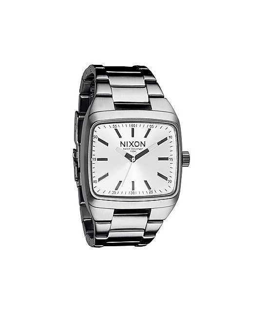 Nixon Manual II White Mens Watch