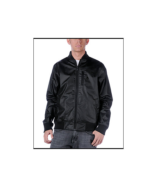 Nixon Maverick Black Jacket