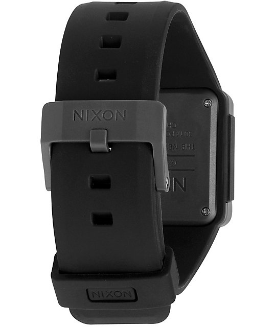 Nixon Newton Black & Grey Digital Watch