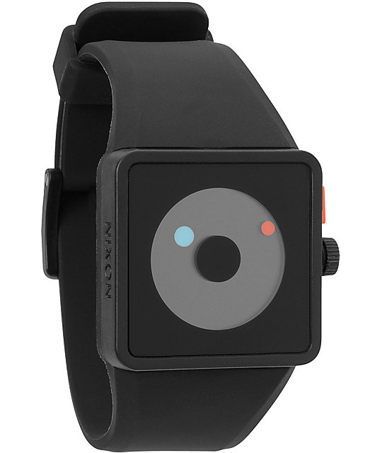 Nixon Newton Black Analog Watch