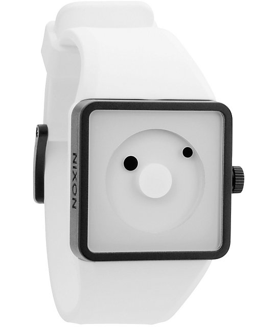 Nixon Newton White Analog Watch