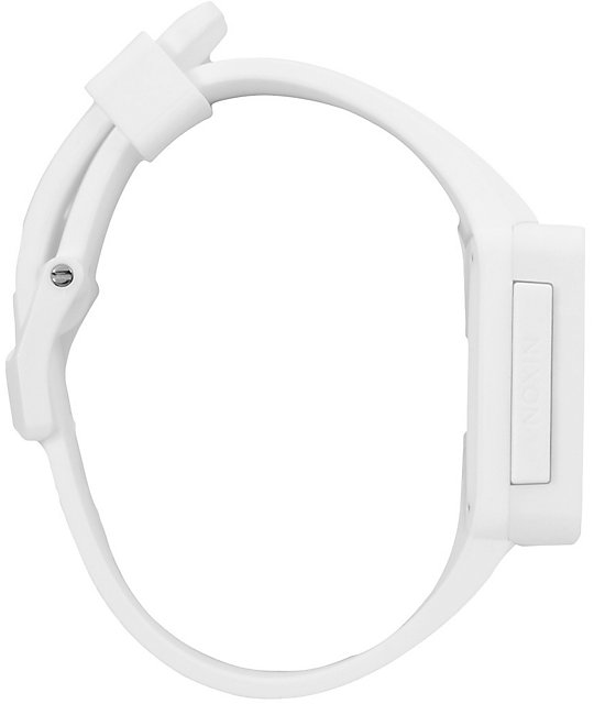 Nixon Newton White Digital Watch