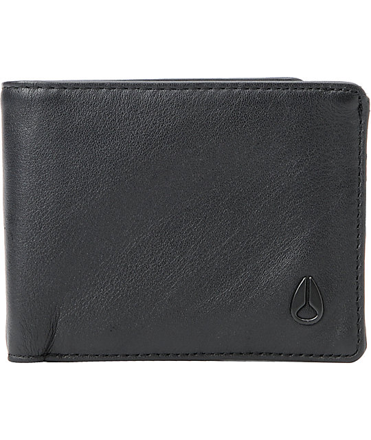 Nixon Pass ID Black Wallet