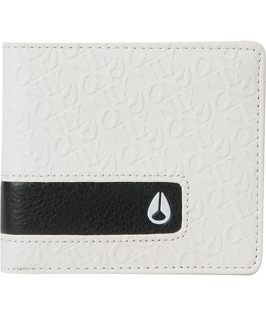 Nixon Philly White Showoff Wallet