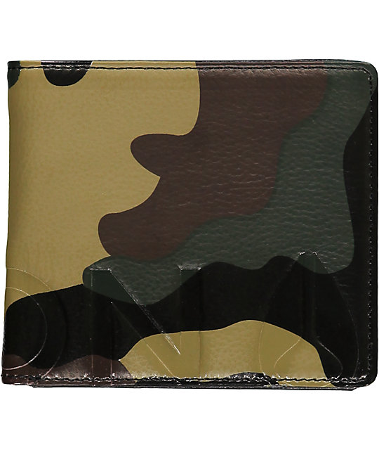 Nixon Photo Album Camo Bi-Fold Wallet