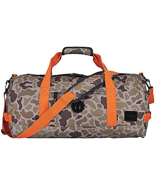 Nixon Pipes Camo 32L Duffle Bag