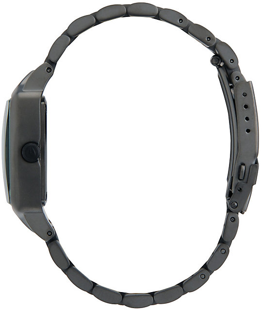 Nixon Player Matte Black & Matte Gunmetal Mens Watch
