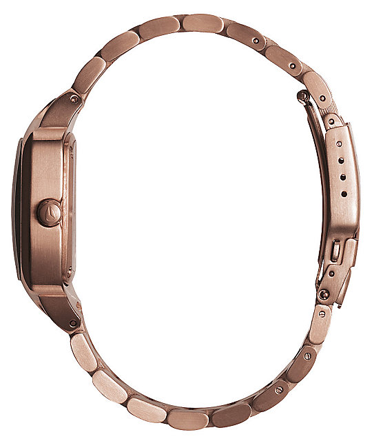 Nixon Player Rose Gold Analog Watch