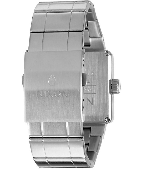 Nixon Quatro White Analog Watch