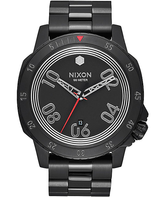 Nixon Ranger SW Kylo Black Analog Watch
