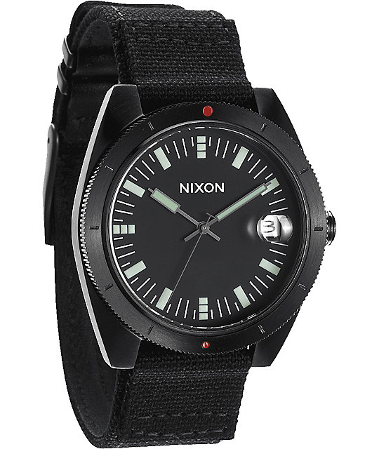 Nixon Rover II All Black Watch