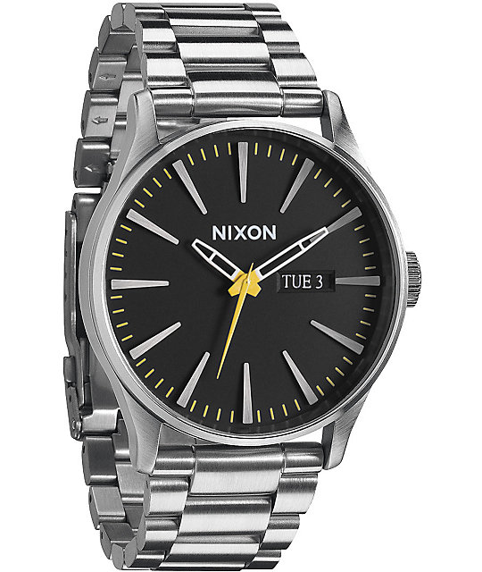 Nixon Sentry SS Grand Prix Analog Watch