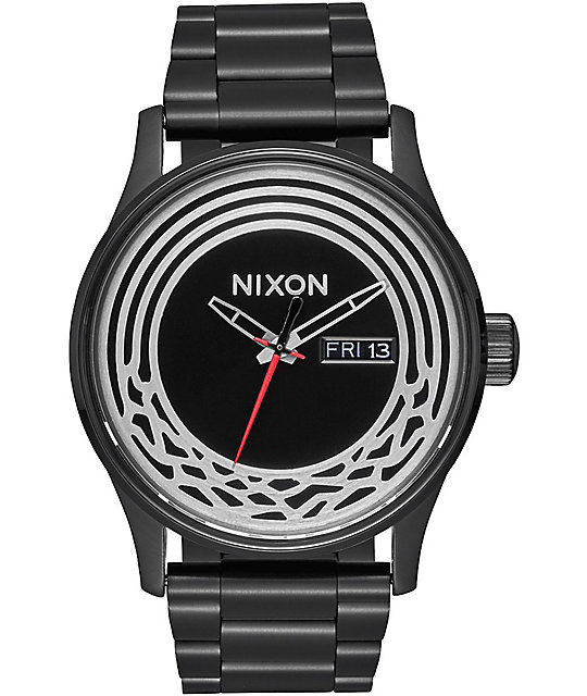 Nixon Sentry SS SW Kylo Black Analog Watch