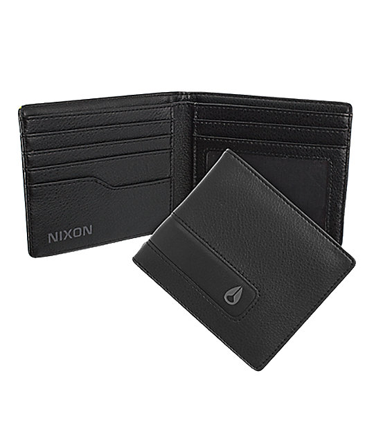 Nixon Showoff Black Bifold Wallet
