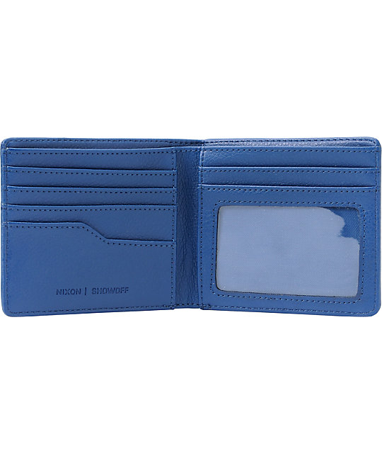 Nixon Showoff Royal Bifold Wallet