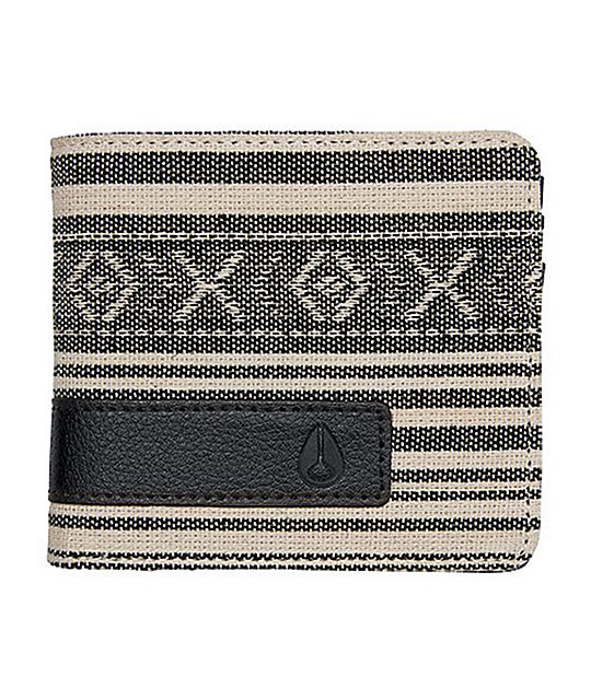 Nixon Showoff Tribal Bifold Wallet