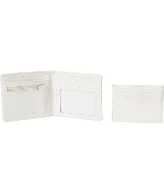 Nixon Showtime Philly White Bifold Wallet