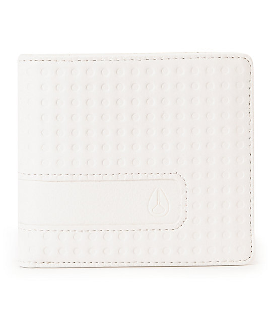 Nixon Showtime White Dot Bifold Wallet