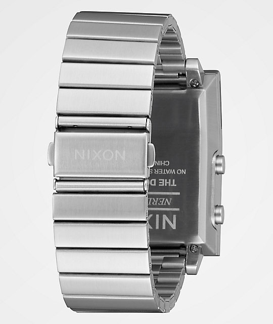 Reloj The En Nixon Negro Plata Dork Digital Too Y tQrdhCs