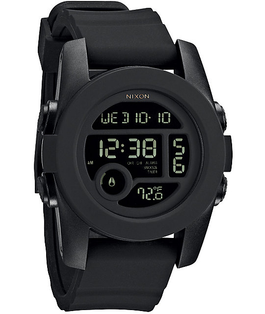 Nixon The Unit 40 Black Digital Watch