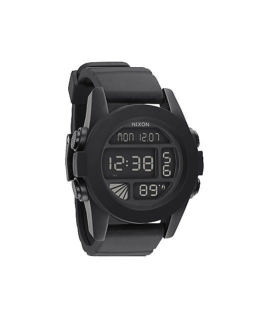 nixon the unit black digital