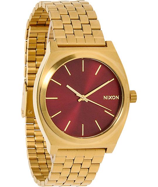Nixon time teller analog watch for Watches zumiez