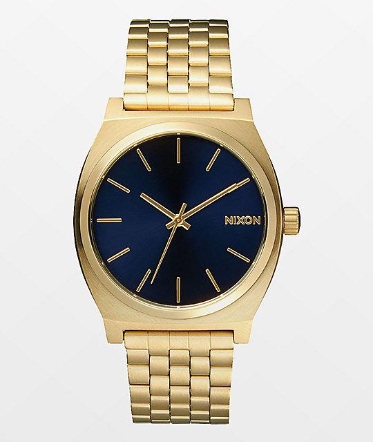 Nixon time teller analog watch at zumiez pdp for Watches zumiez
