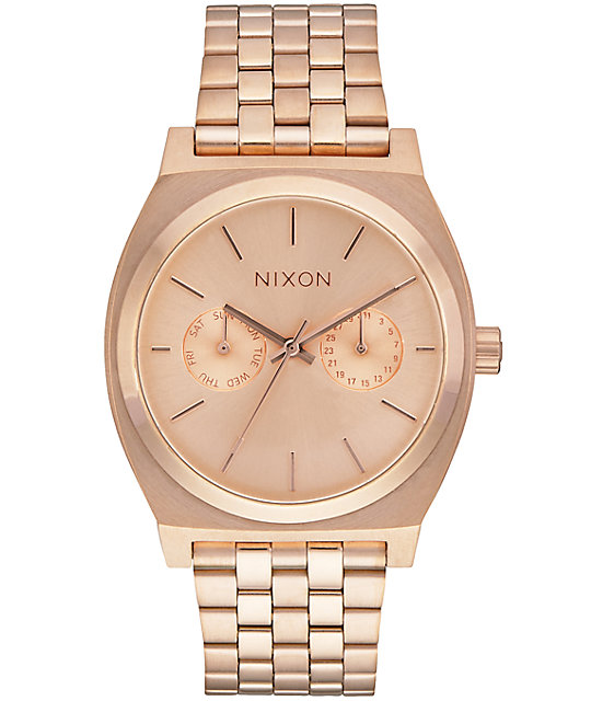 Nixon time teller deluxe analog watch at zumiez pdp for Watches zumiez
