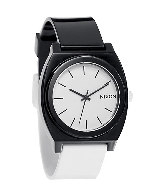 Nixon Time Teller P Black & White Analog Watch