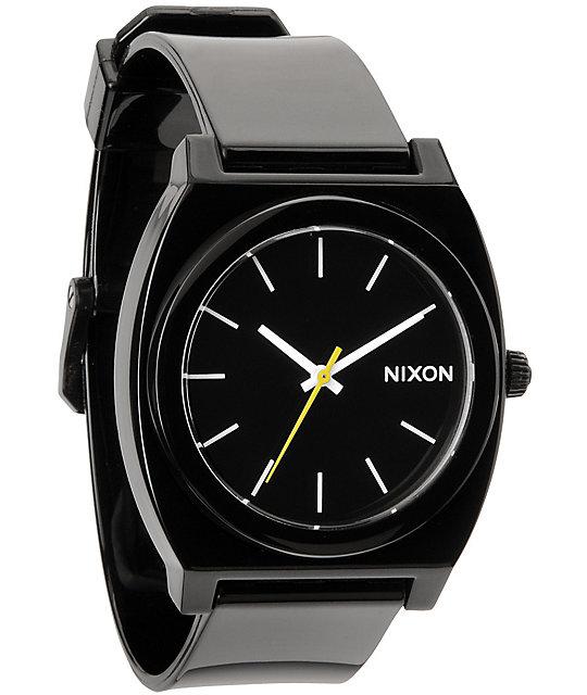 Nixon Time Teller P Black Analog Watch