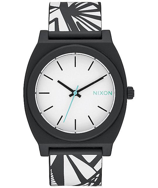 Nixon Time Teller P Black and Bleach Watch