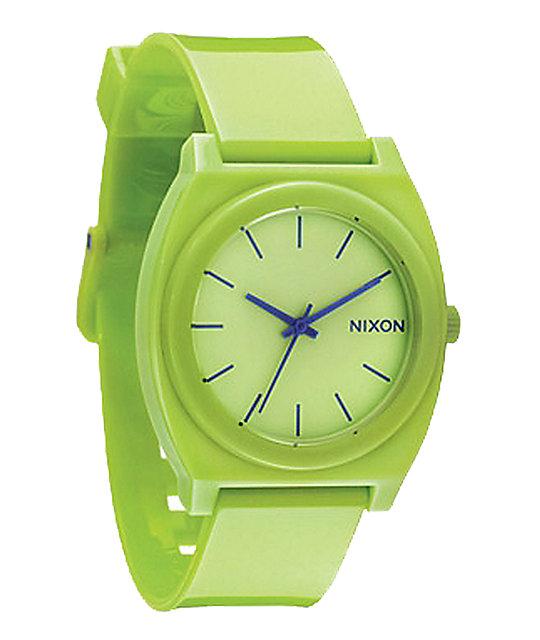 Nixon Time Teller P Lime Watch