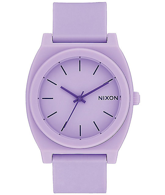 Nixon Time Teller P Matte Violet Analog Watch