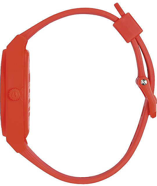 Nixon Time Teller P Neon Orange Watch