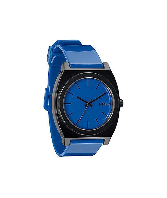 Nixon Time Teller P Royal & Black Watch