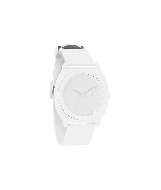 Nixon Time Teller P White Analog Watch
