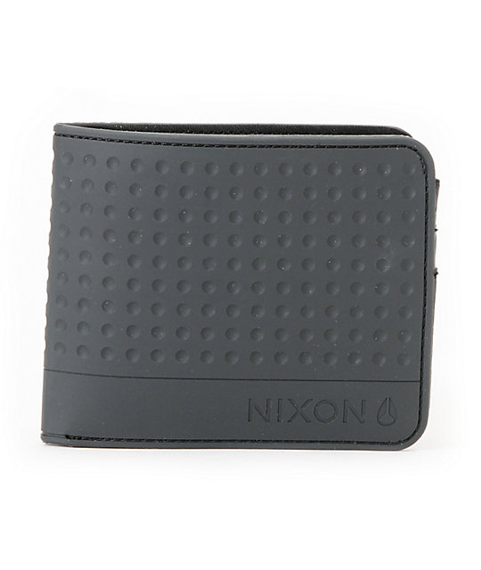 Nixon Torrent Black Bi-Fold Wallet