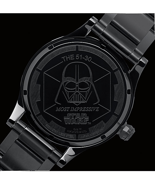 Nixon x Star Wars 51-30 Vader Analog Watch