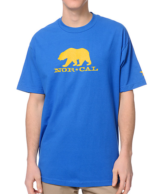 Nor Cal Black Bear Blue T-Shirt