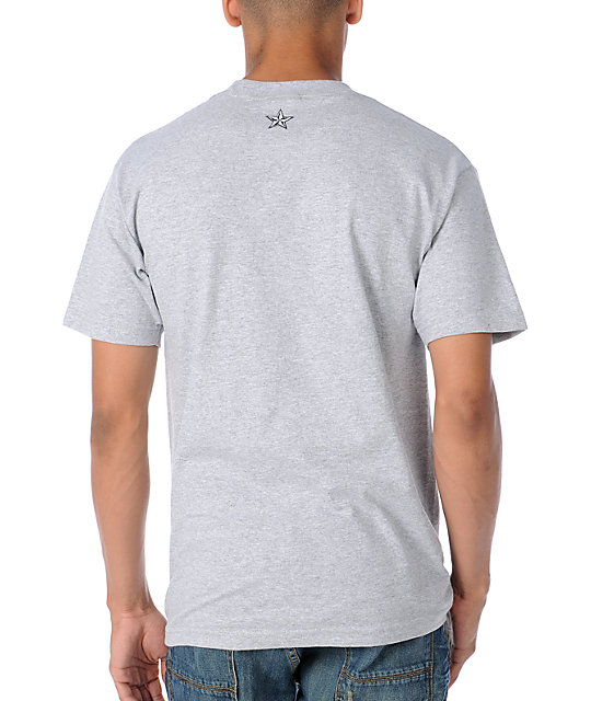 Nor Cal Emblematic Heather Grey T-Shirt