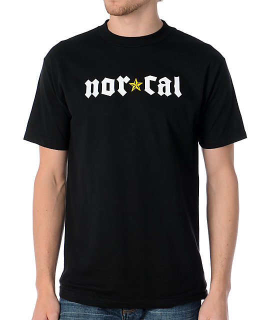 Nor Cal Medieval Black T-Shirt