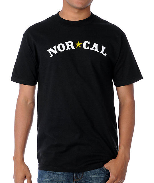 Nor Cal Nautical Black T-Shirt