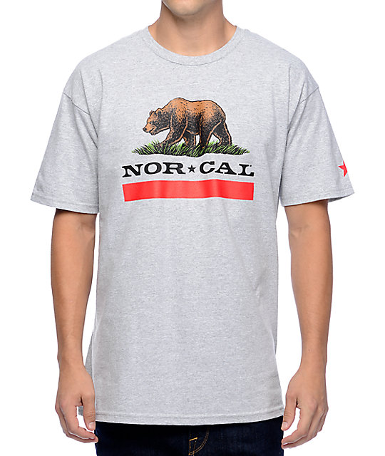 Nor Cal New Republic Grey T-Shirt