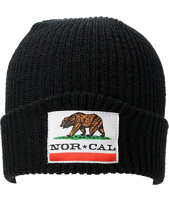 Nor Cal Public Enemy 2 Black Beanie