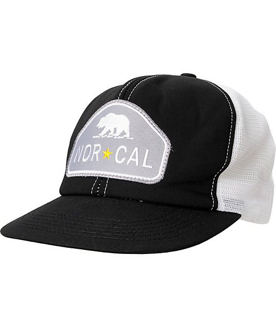 Nor Cal Ranger Black & Grey Hat