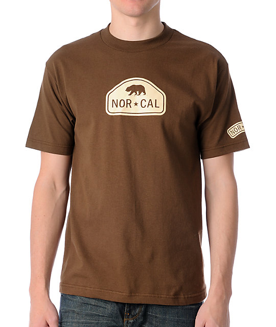Nor Cal Ranger Brown T-Shirt