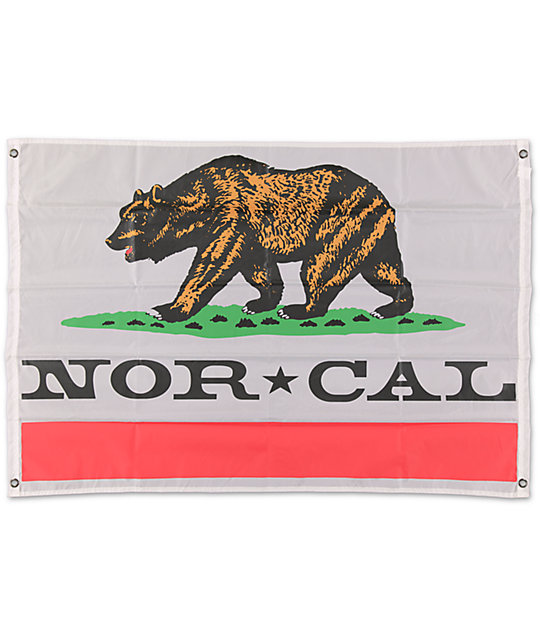 Nor Cal Rebulic White Flag