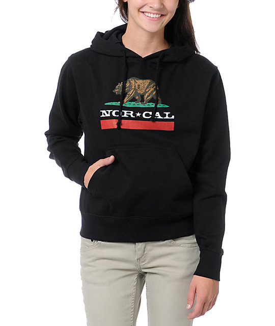 Nor Cal Republic Black Pullover Hoodie
