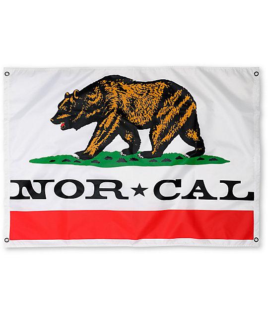Nor Cal Republic White Flag